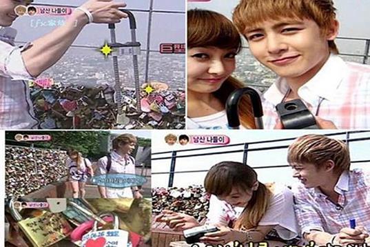 情人节准备怎么过?来看看韩国情侣们的最爱的约会路线!