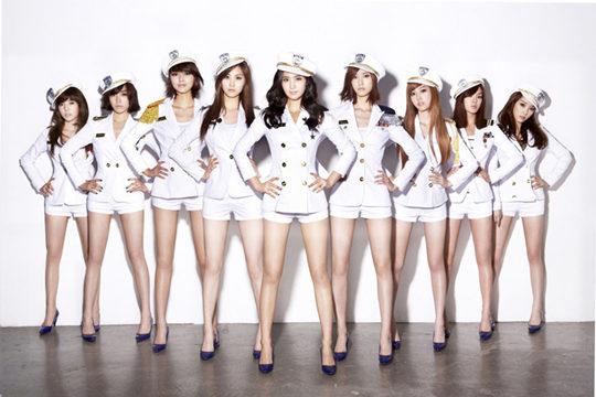 少女时代6首歌MV在YouTube点击量破亿 创女团先河