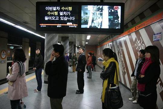 外国游客韩国出行钟爱地铁 公交与出租最不受待见
