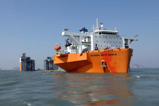 韓政府宣布今上午試撈歲月號沉船