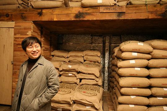 安明奎:我只会做幸福的咖啡