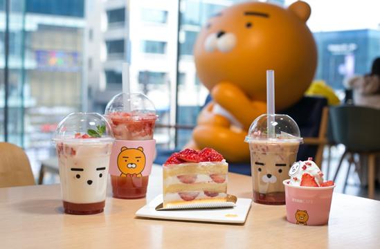 探店韩国最萌主题咖啡馆