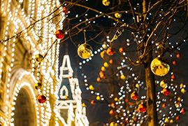 圣诞节首尔浪漫约会地