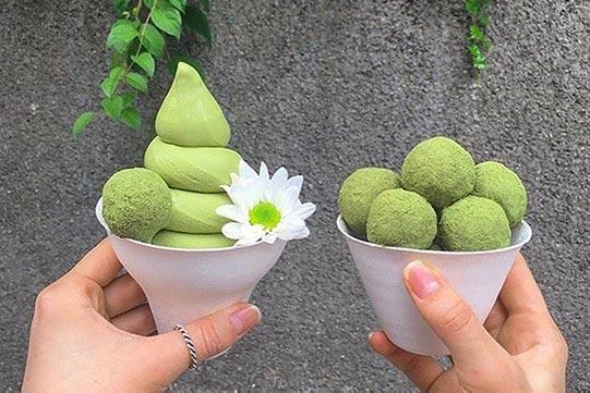 拥有冰淇淋的夏天才足够完美!