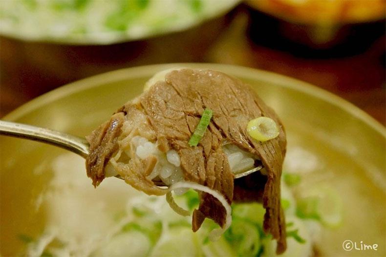 明洞美食:在河东馆吃牛骨汤