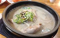 钟路经典美食:土俗村参鸡汤