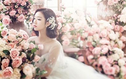 韩国婚纱摄影 浪漫二人世界