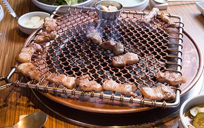 美味烤五花,地道食肉法