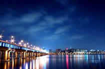 乘地铁游首尔之汉江夜景
