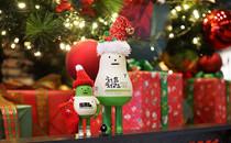 跟韩国网友一起吃转圣诞节