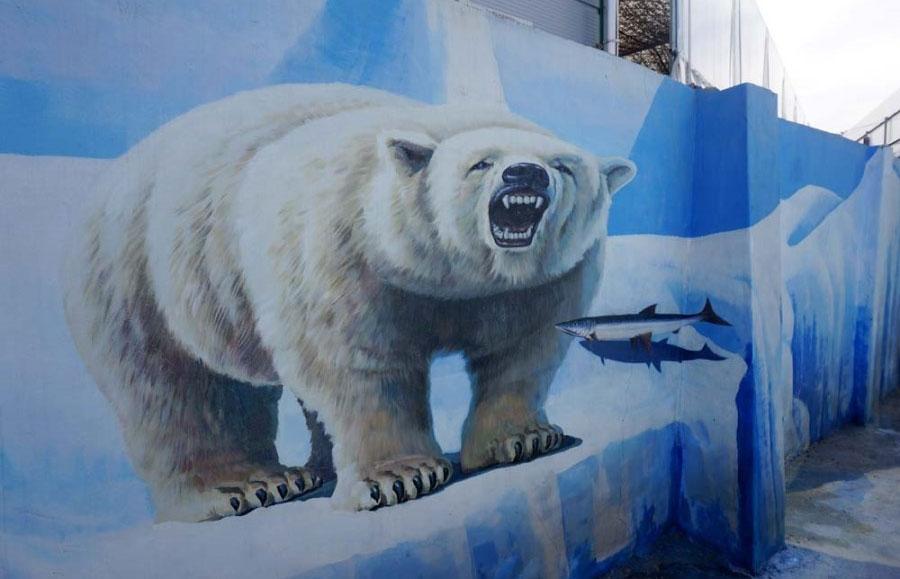 探訪天安水芹街壁畫村