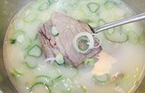 首尔大地铁站美食店:神仙雪浓汤