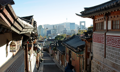 """朝鲜时代""""富人区""""——北村"""