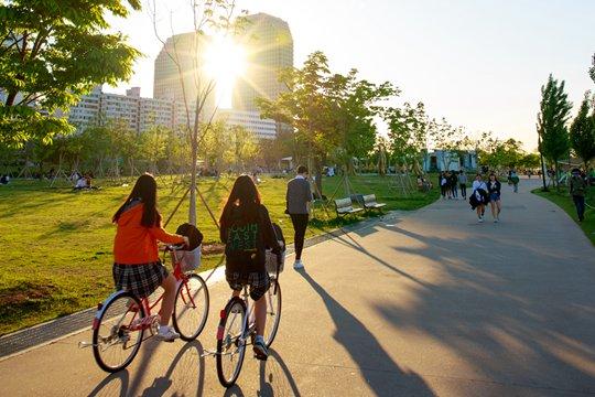 一场慢节奏的首尔单车之旅