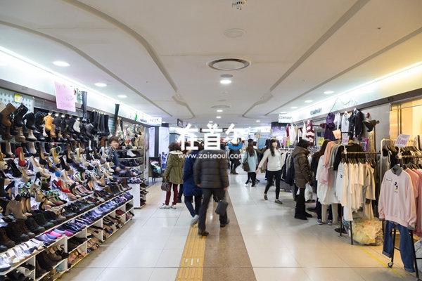 江南站地下购物商街