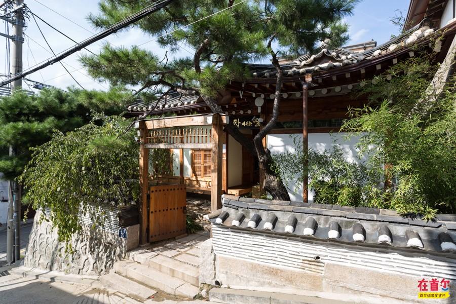 韩国农村院子设计图