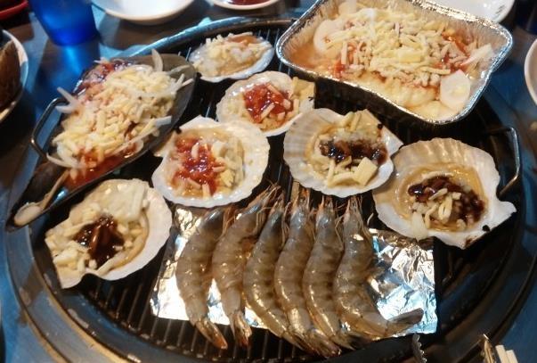 活火山烤蛤蜊