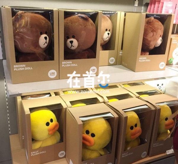 Line Friends Store 明洞店