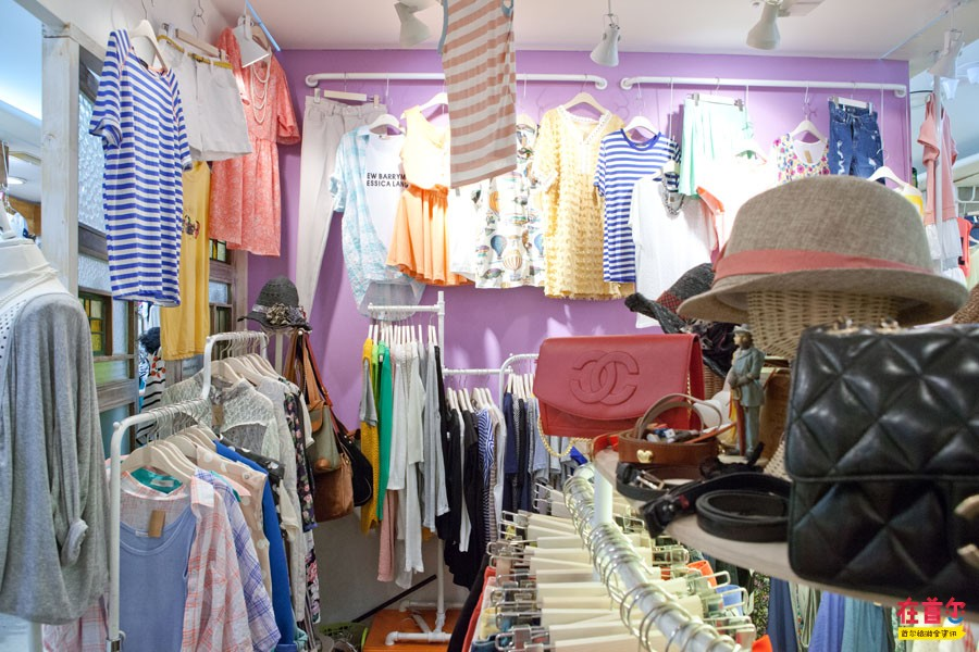 韓國服裝小店內部裝修