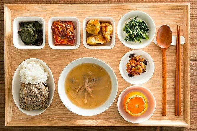 摩旨 韩式传统素食
