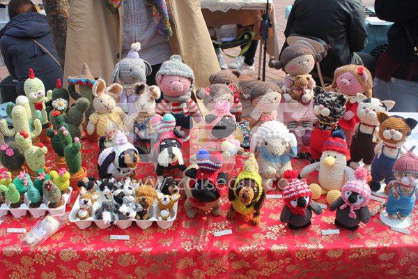 弘大前艺术自由市场
