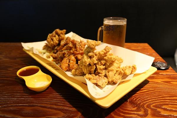 黄色炸鸡(弘大店)