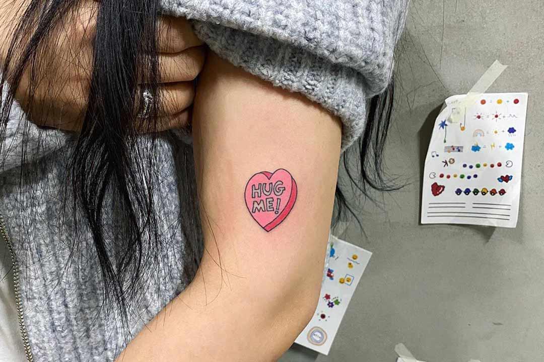 Tan Tattoo