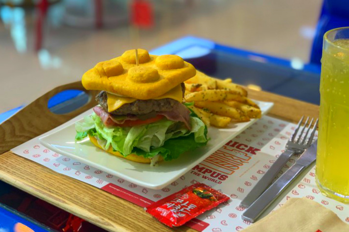 BRICK CAMPUS BURGER