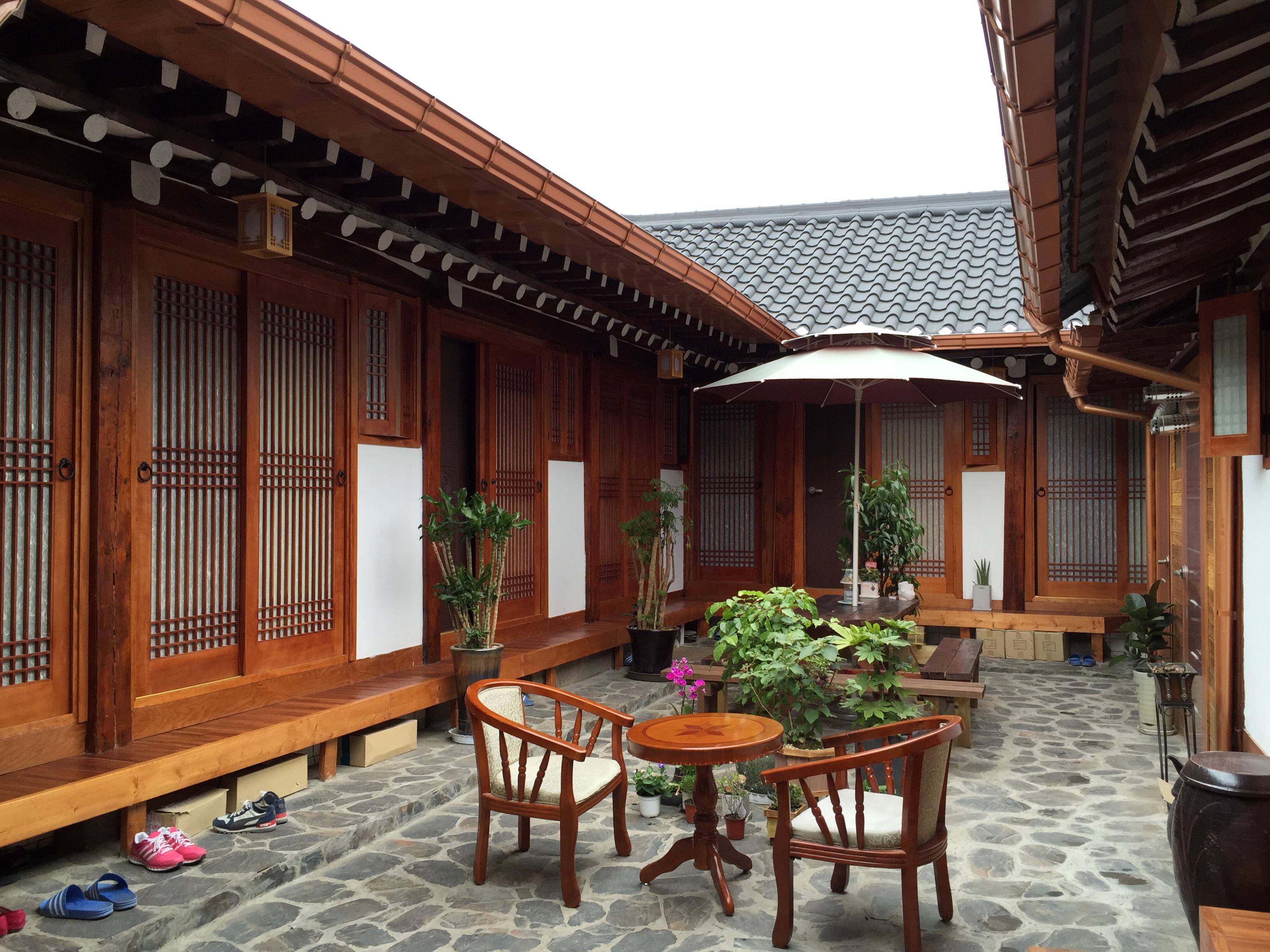 新中式建筑民宿
