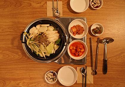 [弘大]土豆汤君 多人套餐