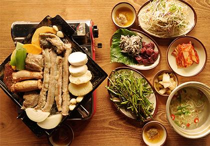 [弘大]獐子巷烤牛肠   多人套餐