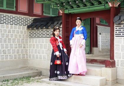 穿越在首尔 一日韩服体验