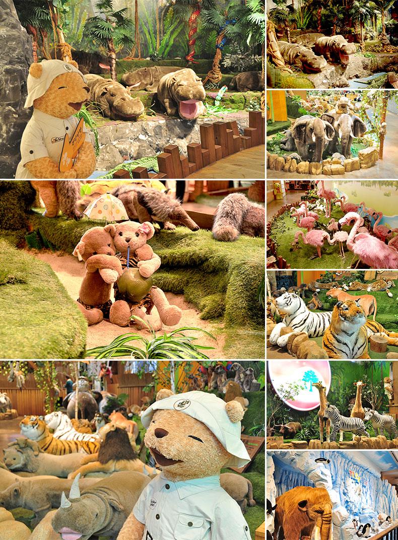 济州teseum泰迪熊主题乐园           地址: 济州岛济州市涯月邑召吉
