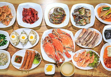 [东大门]顺美家幸福酱蟹 无限续添自助套餐