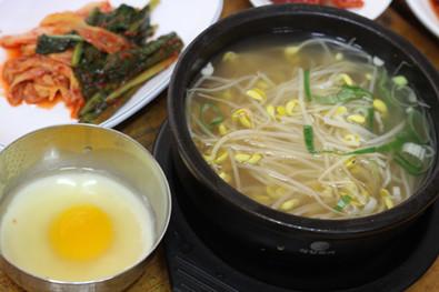 韩国豆芽汤