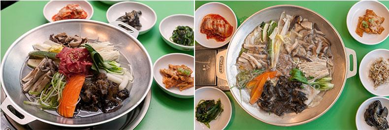 新首尔会馆 蘑菇火锅 在首尔