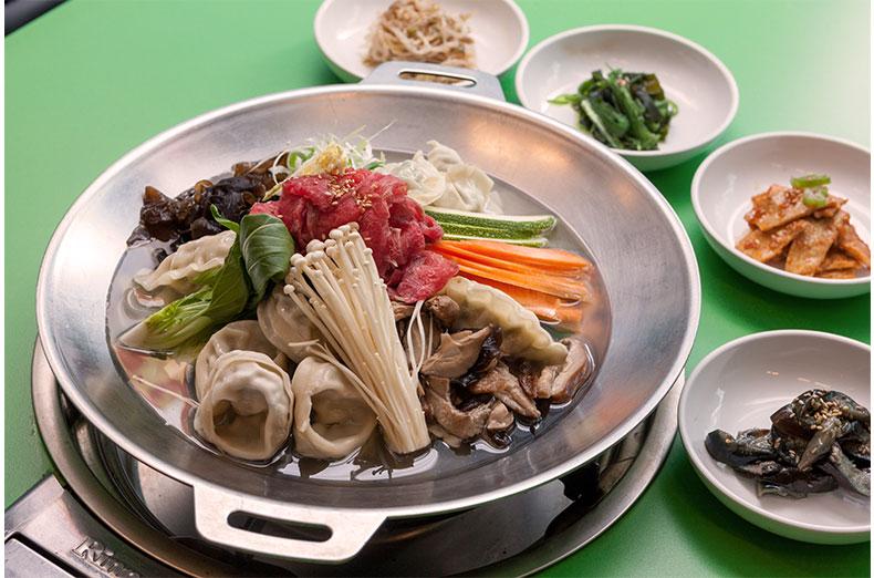 新首尔会馆 饺子火锅 在首尔