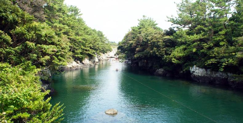 济州岛牛沼河口