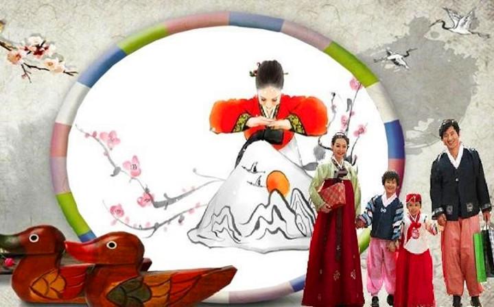 团圆饭春节边框素材