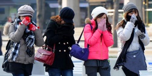 冬季韩国旅游穿衣指南