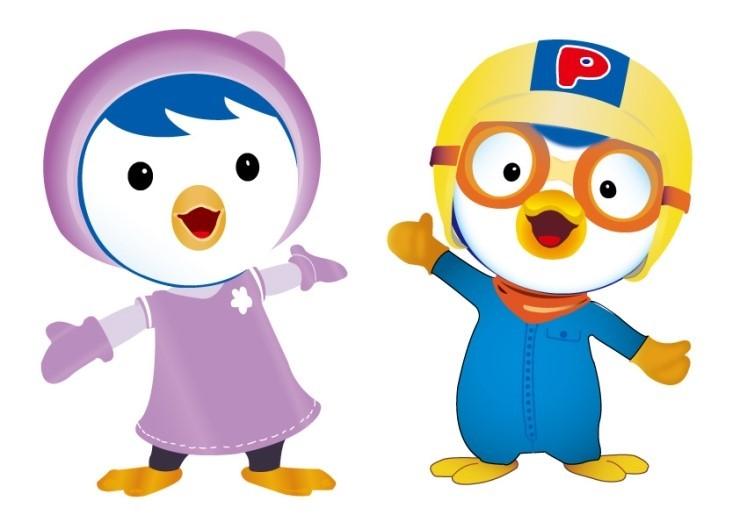 —小企鹅pororo,在韩国的火热程度完全不输中国国内的喜羊羊系列