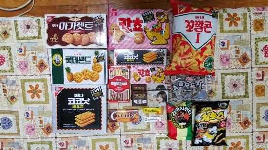 韩剧《请回答1988》零食大礼包